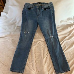 Men's Distressed RSQ Jeans